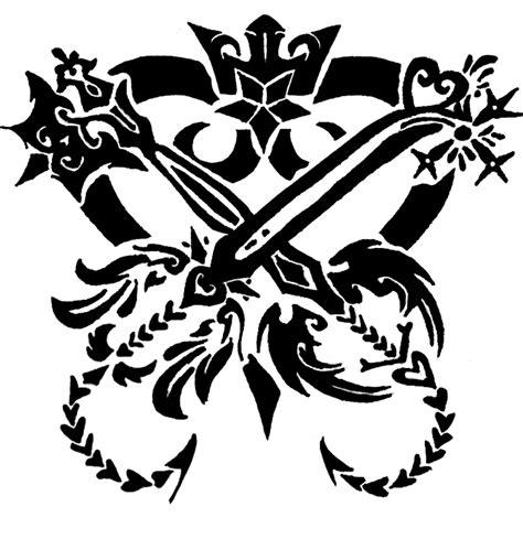 kingdom hearts tattoo designs kingdom hearts by aielion on deviantart