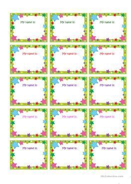 esl printable name tags 2 free esl name tags worksheets