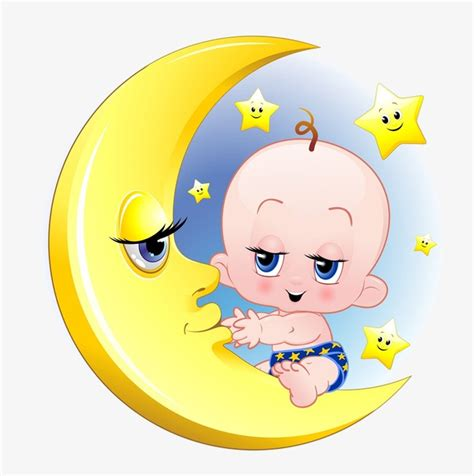 clipart neonati moon baby moon clipart baby clipart baby png image and