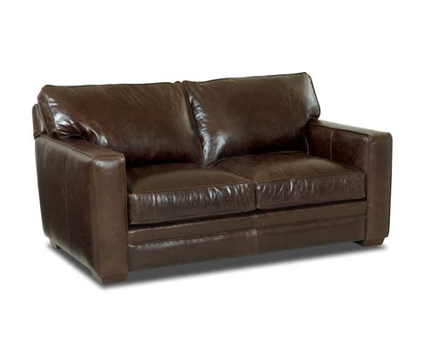 Leather Sofas Chicago Comfort Design Chicago Loveseat Cl1009ls