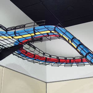 Ceiling Cable Tray must ceiling cable tray and colourfull cables for lighting electronics appliance