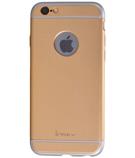Back Cover Iphone 6 ipaky back cover for iphone 6 6s golden plain back