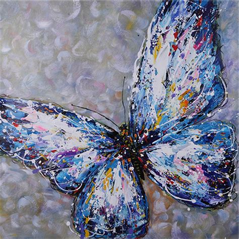 dekor wand handgemaltes 246 lgem 228 lde tier kunst malerei paletten messer
