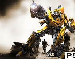 Termos 3d Transfomers Buble Bee transforme elo7