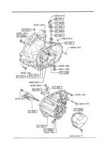 1994 mazda protege transmission manual transmission