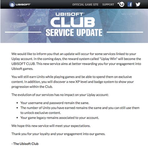 how to update uplay games update ubisoft rebrands uplay reward features as ubisoft