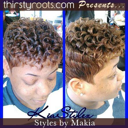 curly short haircut thirstyroots.com: black hairstyles