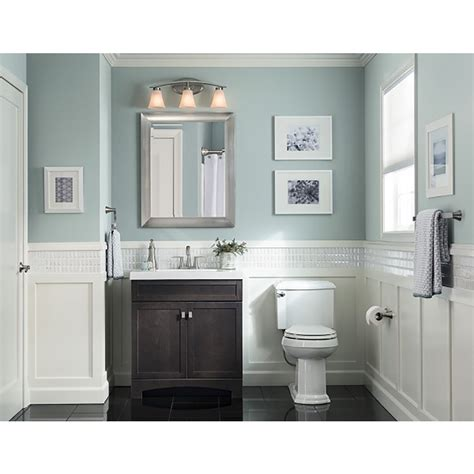bathroom sink cabinets with marble top shop style selections drayden grey integral single sink