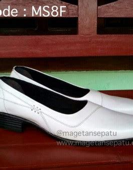 jual sepatu pantofel wanita warna putih kode ms8f sepatu