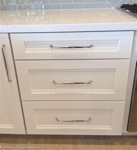 Kitchen Cabinet Handles by Kitchen Remodel Using Lowes Cabinets Cre8tive Designs Inc