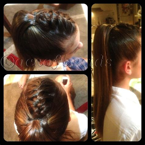 deep invisible line in hair extension hair styles invisible ponytail weave pinterest