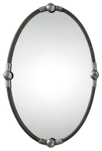 Uttermost Mirrors Oval by Uttermost Uttermost Carrick Black Oval Mirror Wall
