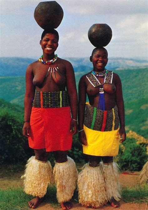 african zulu tribe south africa africa quot zulu maidens quot south africa scanned postcard