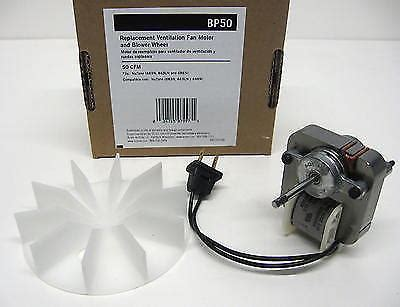 nutone bathroom fan motor 57n2 bp50 broan nutone vent bath fan motor for model 663n 663ln