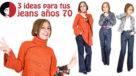 imagenes moda retro años 70 3 ideas para tus vaqueros a 241 os 70 youtube