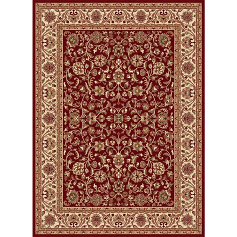 Tayse Rugs Sensation Red 10 Ft 6 In X 14 Ft 6 In Rugs 6 Ft