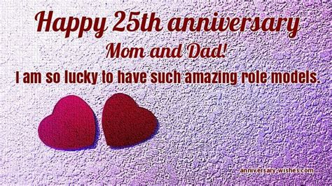 25th Wedding Anniversary Quotes To by 25th Anniversary Wishes Happy 25th Anniversary Images
