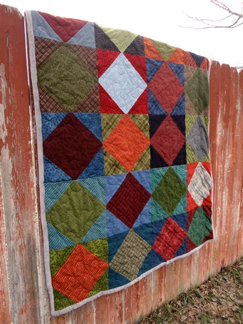 quilt pattern on point square on point quilt tutorial