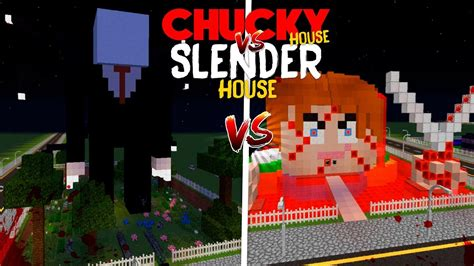 chucky house minecraft chucky house vs slender man house youtube