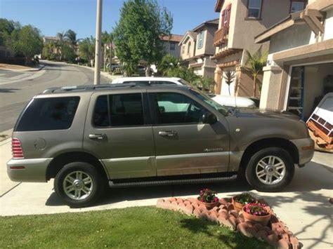 how make cars 2002 mercury mountaineer regenerative braking purchase used 2002 mercury mountaineer like ford explorer v8 awd 7 seater needs nothing in