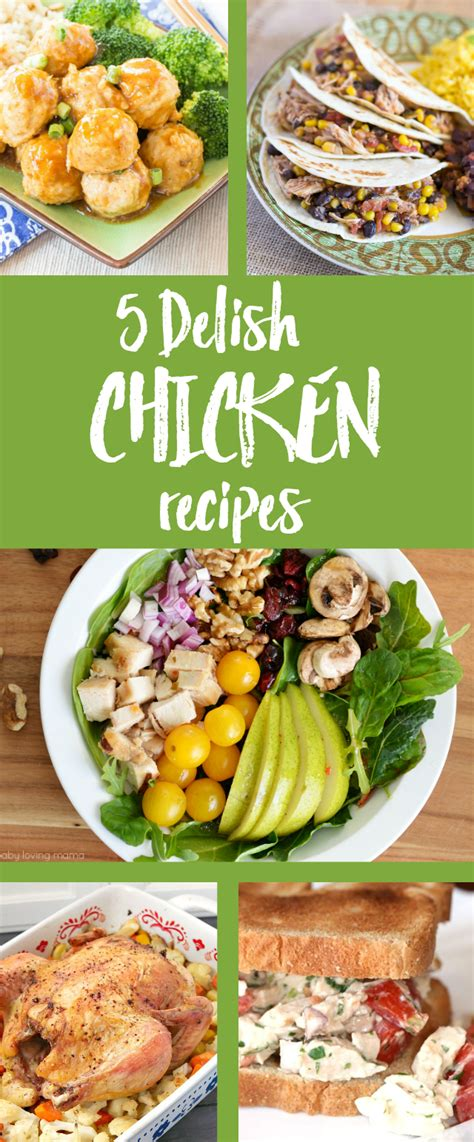 delish chicken recipes 5 delish chicken recipes tabler party of two