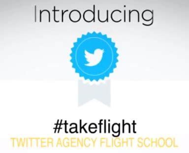 twitter leert bureaus bij met #takeflight nsma