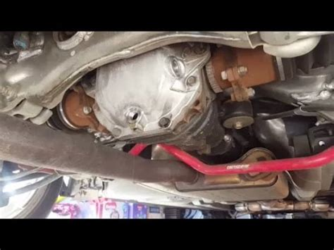 Howto Diy 350z Transmission Oil Change Doovi