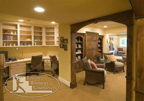 charming home office ideas for basement basement office