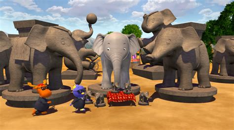 Backyardigans Elephant On The Run Elephant Where Could You Be The Backyardigans Wiki