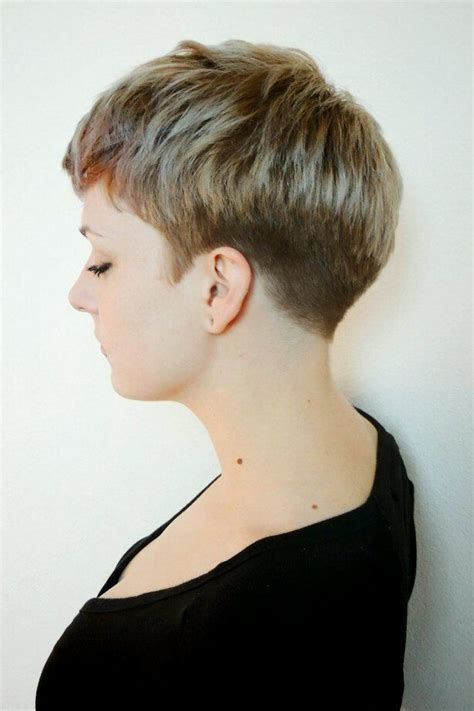 pixie haircutd with short neckline pinterest discover and save creative ideas