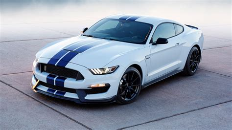 mustang shelby stripes ford mustang shelby white with race blue stripes