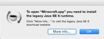 how to fix legacy java se 6 runtime popup on mac