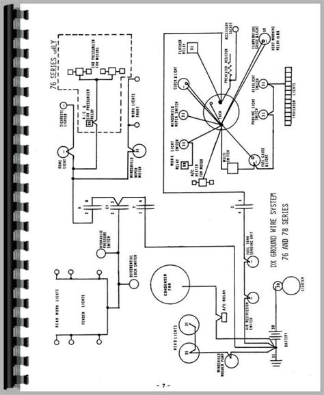 deutz d8006 tractor wiring diagram service manual