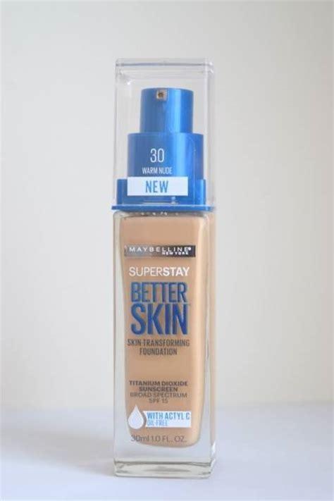 better skin maybelline maybelline superstay better skin skin transforming