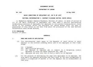 Cleaning Contract Template by Cleaning Contract Template 27 Word Pdf Documents