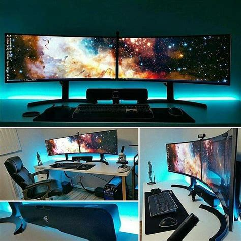 best way to set up a room best 25 gaming setup ideas on pc gaming setup