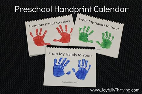 preschool christmas gifts to make the 25 best handprint calendar preschool ideas on calendar ideas for to make