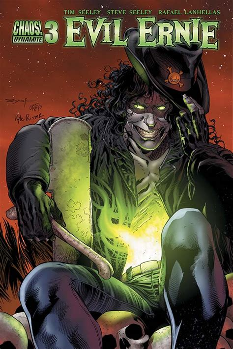 evilway resurrected horrors volume 2 books dynamic forces 174 evil ernie 3