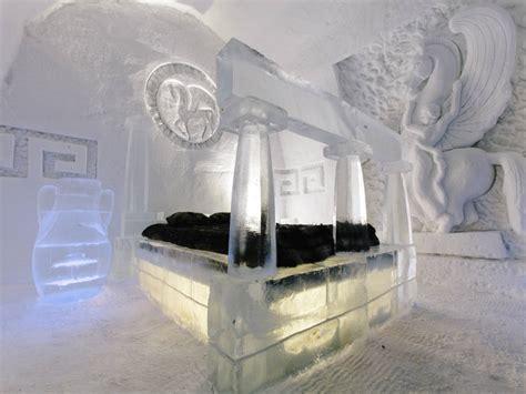 theme hotel de glace h 244 tel de glace theme attractions saint gabriel de