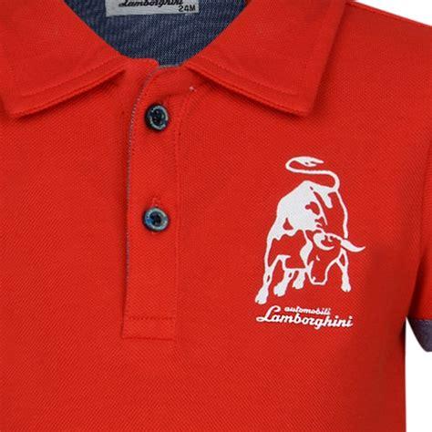 Lamborghini T Shirt Polo by Lamborghini Baby Boys Polo Shirt With Embroidered Logo