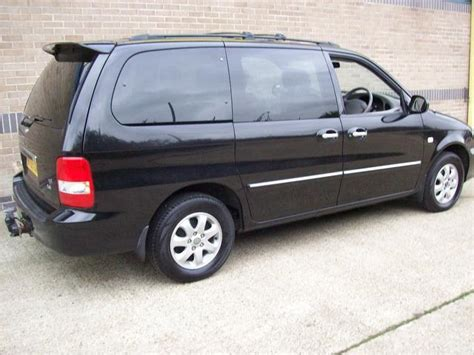 Kia Sedona 2005 Price Used Kia Sedona 2005 Diesel 2 9 Crdi Le 5dr Estate Black