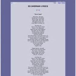 right side of the bed lyrics lyrics ed sheeran pearltrees