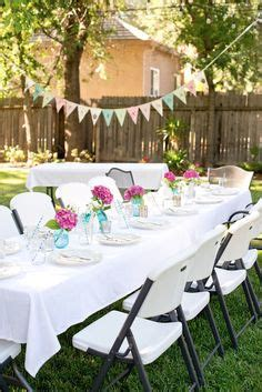 Decor ideas for girls night in backyard dinner party http www