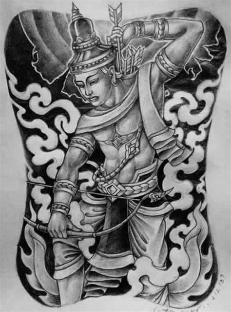 laos tattoo designs beautiful southeast asian illustration