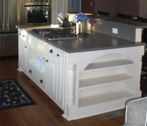 kitchen island ideas with stove top woodworking projects