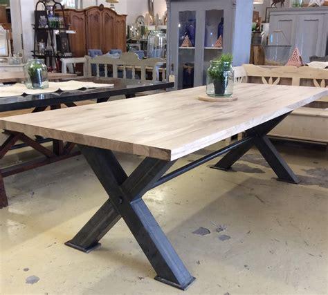 steel top dining table box steel oak top dining table ark vintage vintage