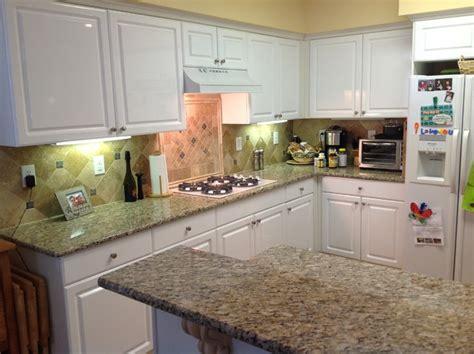santa cecilia granite with white cabinets santa cecilia granite countertops with white cabinets