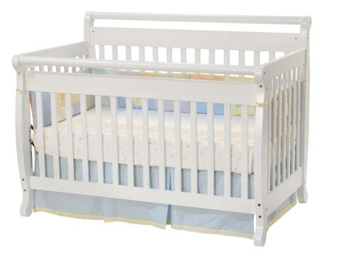White Baby Cribs Kids Furniture Ideas Davinci Emily 4 In 1 Convertible Crib With Toddler Rail