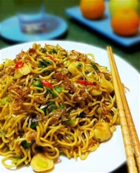 resep masakan indonesia resep mie goreng pedas