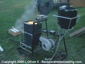 ark forge on boat backyard furnace melt iron as easily as most